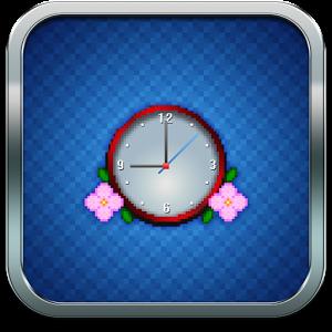 Pixel Art Clock