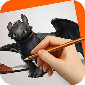 Draw How to Train Your Dragon
