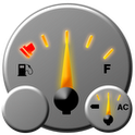 Sport Car Fuel Gauge Battery digital fuel gauge