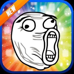 FREE Rage Faces Sticker ONLINE rage sticker time