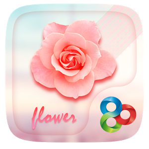Flower GO Launcher Theme christmas flower theme