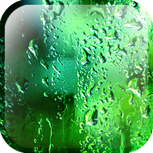Galaxy S5 Rain Glass