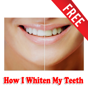 How I Whiten My Teeth folder simple teeth