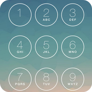 Keypad Lock Screen Iphone Lock lock screen total