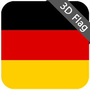 Germany Flag - High Quality 3D