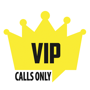 Vip Calls Only calls digital flashlight