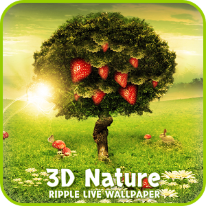 Nature Ripple Live Wallpaper