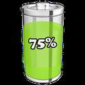3D Battery Status Widget