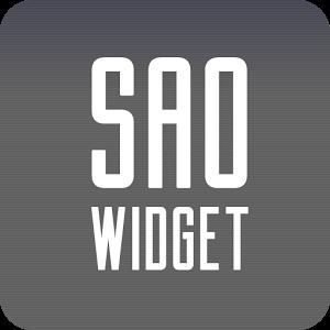 SAO Widget widget