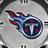 TITANS BLACK Clock Widget
