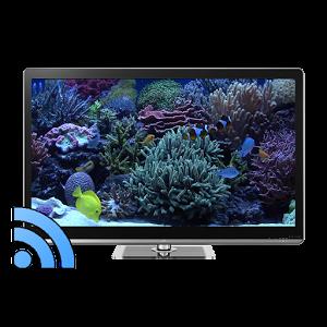Aquariums on TV via Chromecast