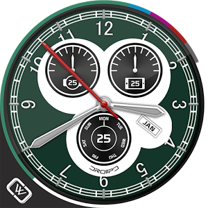Sky Master Military Watch Face