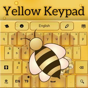 Yellow Keypad keypad