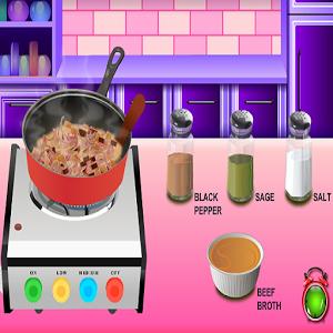 طبخ حساء الفطر