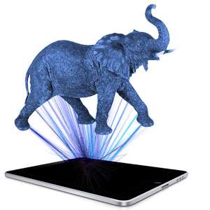 Mobile Hologram Animals