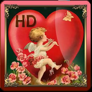 Valentines Day Vintage HD LWP