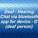 "Deaf-Hearing chat. ""D""-trial. kernel quot verses"