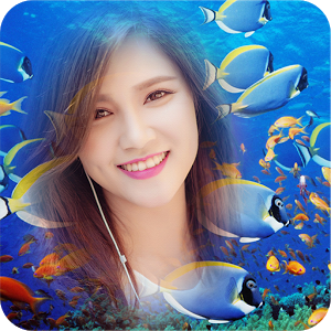 Ocean Frame Collage