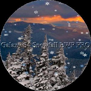 Galaxy S4 Snowfall LWP PRO