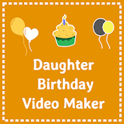 Birthday video for daughter - with photo and song