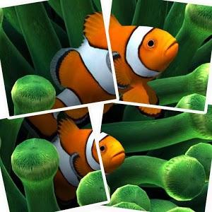 Aquarium Drag Puzzle