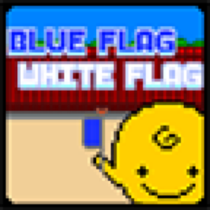 Blue flag White flag x SimSimi flag