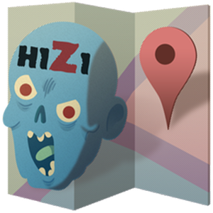 H1Z1 Offline Map