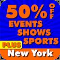 50% Off New York City PLUS