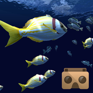 Fish Schooling VR automation schooling