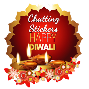 Happy Diwali Chatting Stickers comic happy stickers