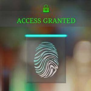 Finger scanner Lock screen finger free lock