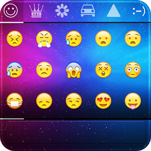 Emoji Keyboard-color,emoticon