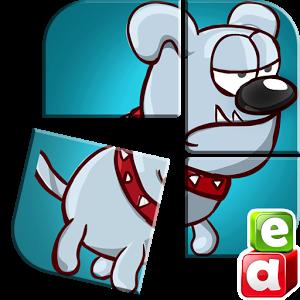 Animated Puzzle Dog