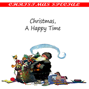 Christmas, A happy time comic happy time