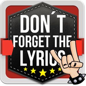 Don`t Forget the Lyrics Rock