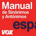 Vox Spanish Thesaurus TR