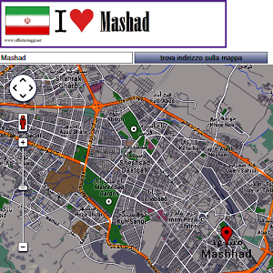 Mashad map