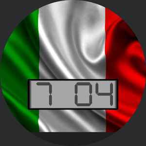 Italy Flag for WatchMaker