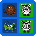 Memory Kids Game - Animals