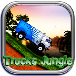 Racing Truck Jungle Game