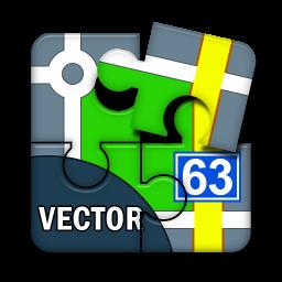 Locus - addon Vector maps