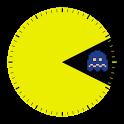 Pac-Man Widget Clock