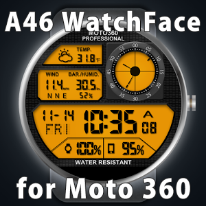 A46 WatchFace for Moto 360