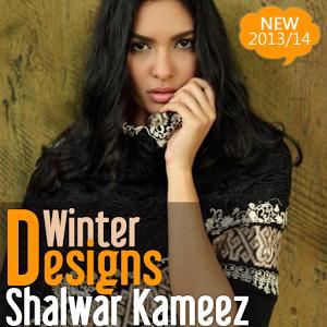 Winter Shalwar kameez Designs