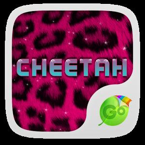 Pink Cheetah GO Keyboard Theme