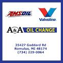 A & A Oil Change change