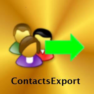 Contacts Export export
