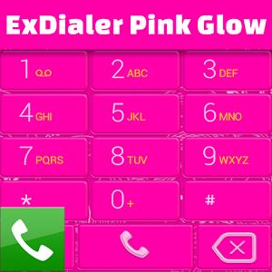 ExDialer Pink Glow