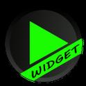 Poweramp Green Skin Widget
