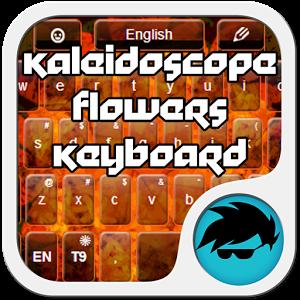 Kaleidoscope Flowers Keyboard